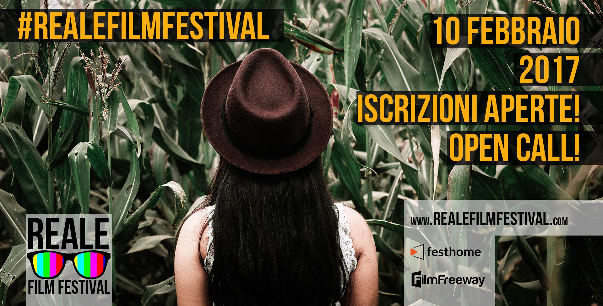 Open Call! / Iscrizioni Aperte! – Reale Film Festival