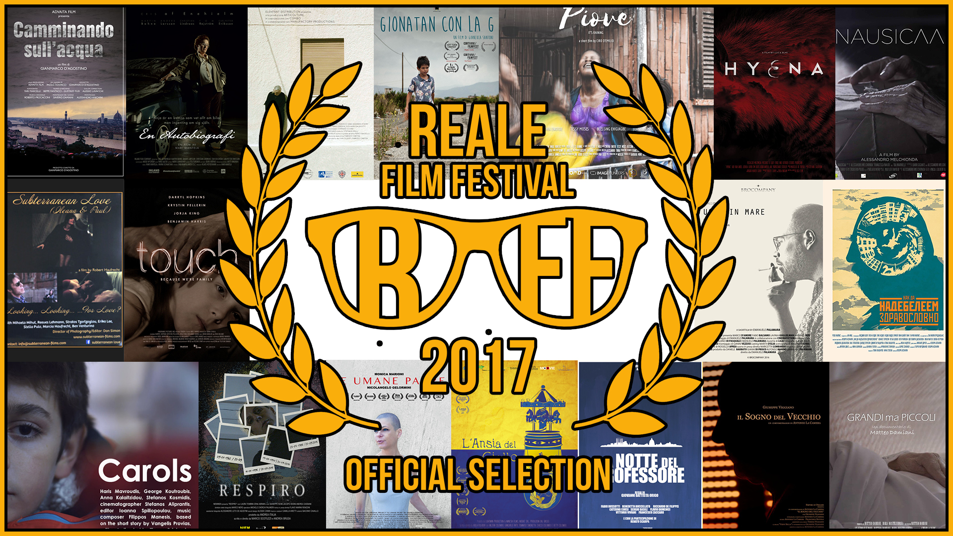 Reale Film Festival – I finalisti / Finalists