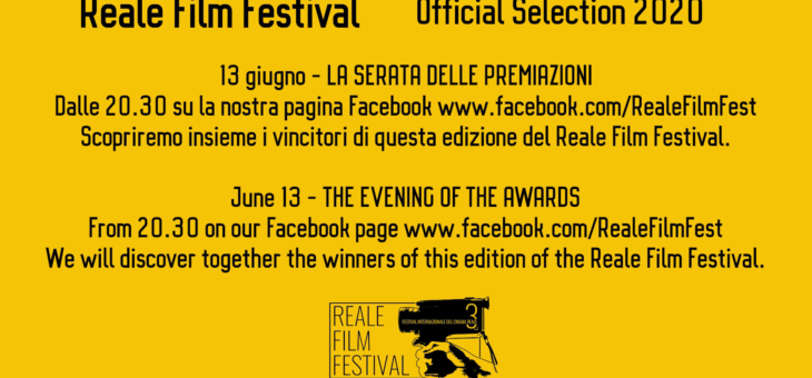 Official selection Reale Film Festival 2020